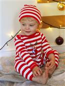 Buy Christmas Stripy Embroidered Rompersuits Online
