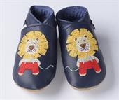 Buy Handmade Soft Leather Shoes-  Lion design Online